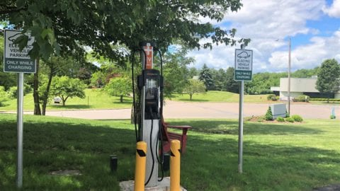 Comcast Adds Electric Vehicle Charging Station to Berlin, CT Office