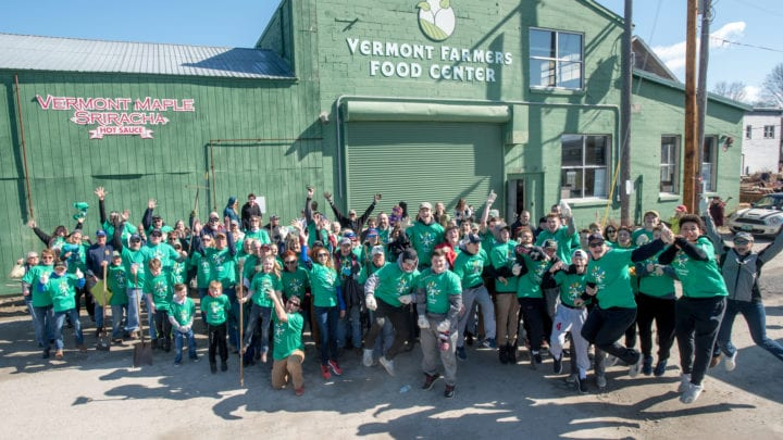 Comcast Foundation Awards Grant to Vermont Farmers Food Center for Comcast Cares Day Involvement