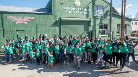 Comcast Foundation Awards Grant to Vermont Farmers Food Center for Comcast Cares Day Involvement
