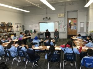 """Comcast Brings HISTORY Channel's """"Take a Veteran to School Day"""" to Connecticut"""